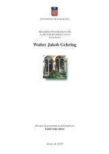 Honoris causa Walter Jakob Gehring (eBook)