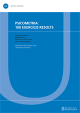 Psicometria: 100 exercicis resolts