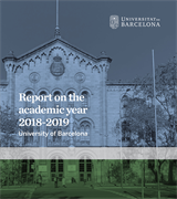 Report on the academic year 2018-2019 (eBook)